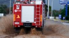 Μεγάλα προβλήματα από τη βροχόπτωση στη Χαλκιδική