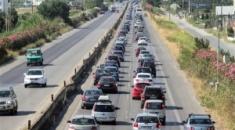 Εργασίες συντήρησης στην Εθνική Οδό Θεσσαλονίκης-Μουδανιών