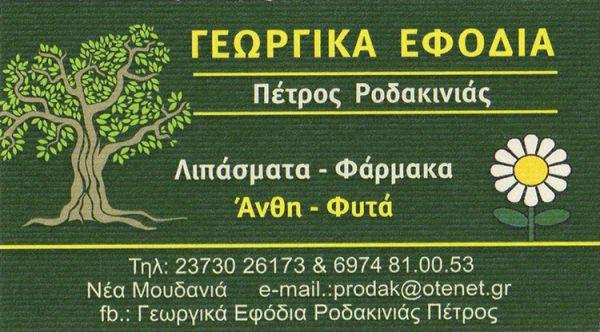 ΠΕΤΡΟΣ ΡΟΔΑΚΙΝΙΑΣ